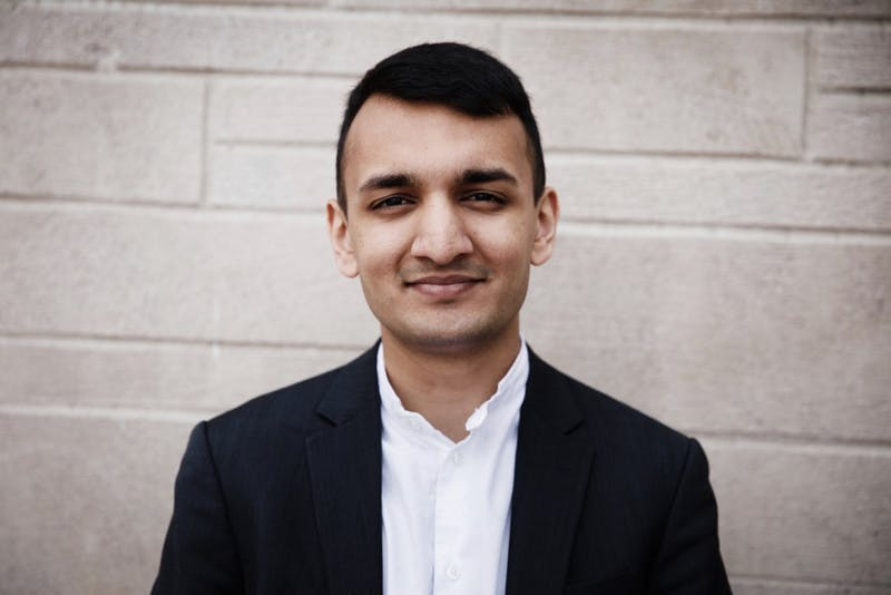Senior Krishna Pathak is this year's student commencement speaker. Pathak graduated from Carmel High School before coming to IU and pursuing a degree in law and public policy.