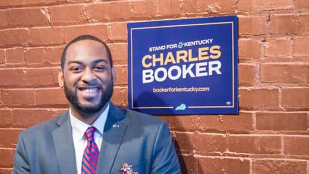 Kentucky Rep. Charles Booker, D-Kentucky, is a Louisville native and candidate for state senator.