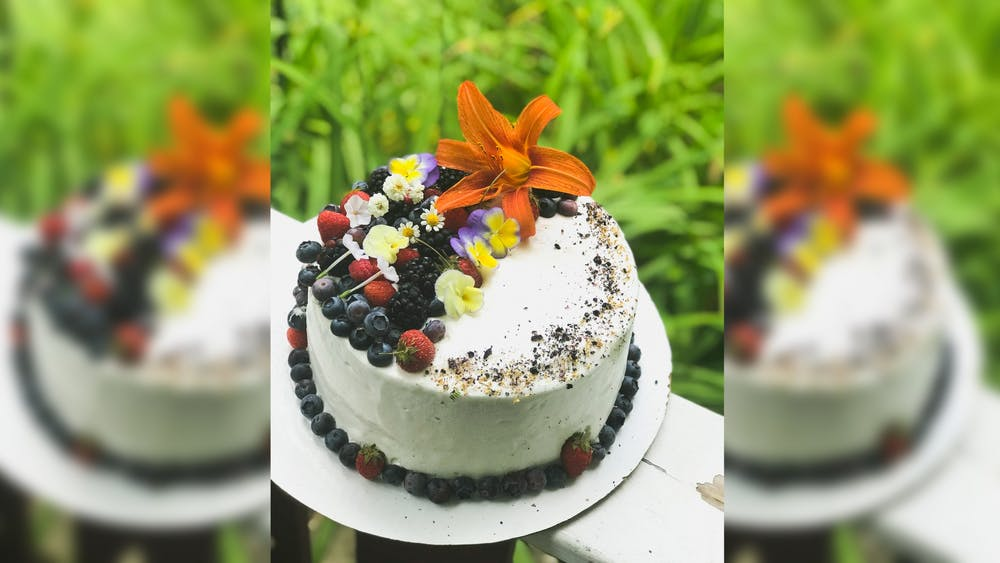 Dev Montanez has been baking cakes, donuts and other sweets in exchange for donations to mutual aid groups and other local organizations since March.Montanez has baked 25 cakes in exchange for donations so far, raising about $1,200 for organizations such as Mother Hubbard's Cupboard and Black Lives Matter Bloomington.