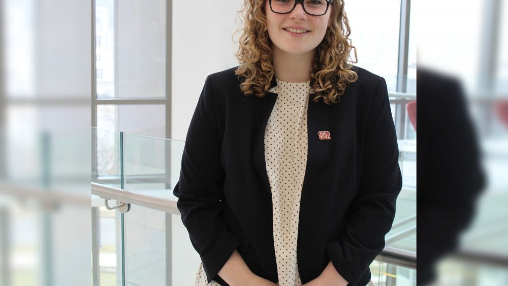 Junior Isabel Mishkin is the incoming IU Student Government president. She was previously the IUSG chief of staff.