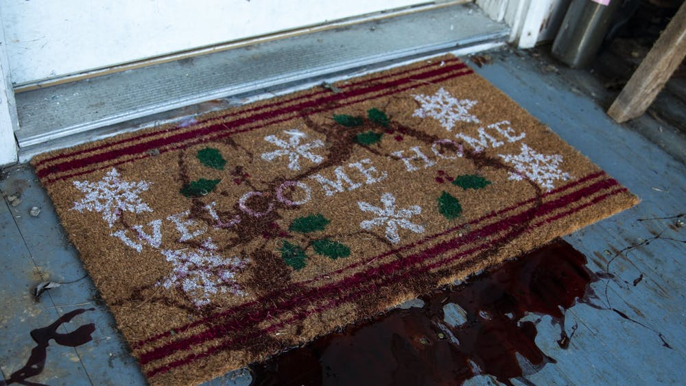 Jeremy Hogan, a creator of The Bloomingtonian news site, had his porch and mailbox vandalized with a thick red substance the night between Dec. 10-11. Hogan was among a few who were targeted, including Sarah Dye, Doug Mackey and professor Eric Rasmusen.