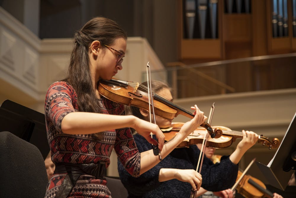 <p>Emily Leung performs in Auer Hall. IU Cinema will screen a virtual film event and Q&amp;A session at 7 p.m. Friday, for the premiere of &quot;IU 2020: Part 1.&quot;</p>