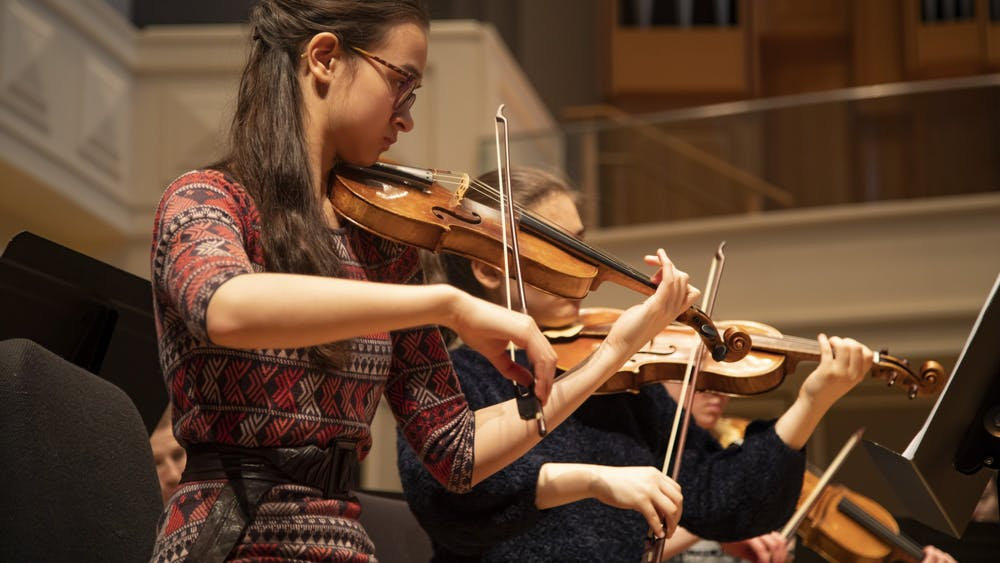 """Emily Leung performs in Auer Hall. IU Cinema will screen a virtual film event and Q&A session at 7 p.m. Friday, for the premiere of """"IU 2020: Part 1."""""""