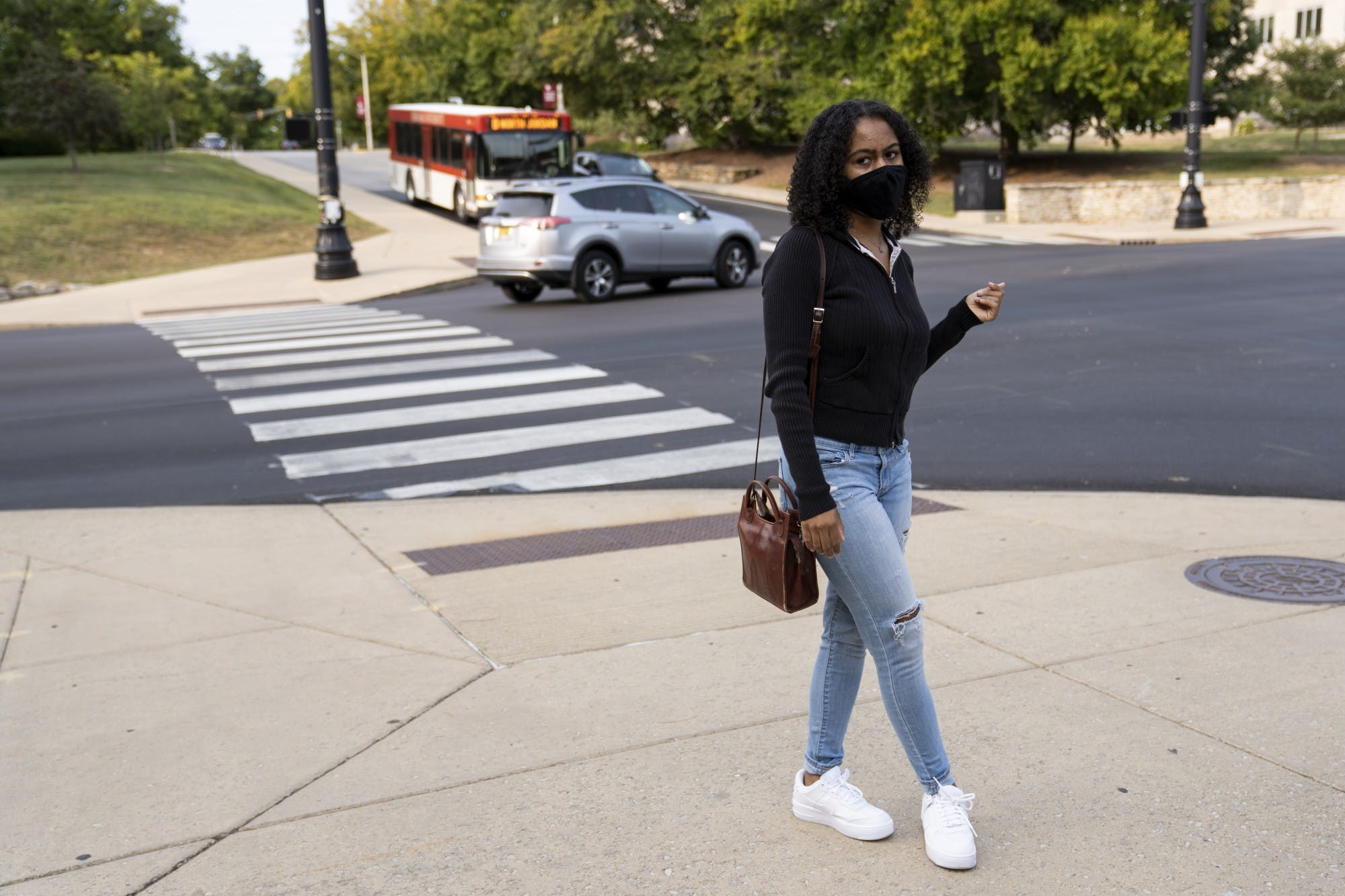 Aluko talks about the second bias incident that also happened during her freshman year of college. Afterwards, she tried to not walk home later at night by herself in order to avoid anything like that happening to her again.