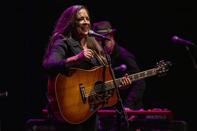 Carlene Carter performs Sept. 8 in the Buskirk-Chumley Theater. Carter's tour will run through Feb. of 2020.