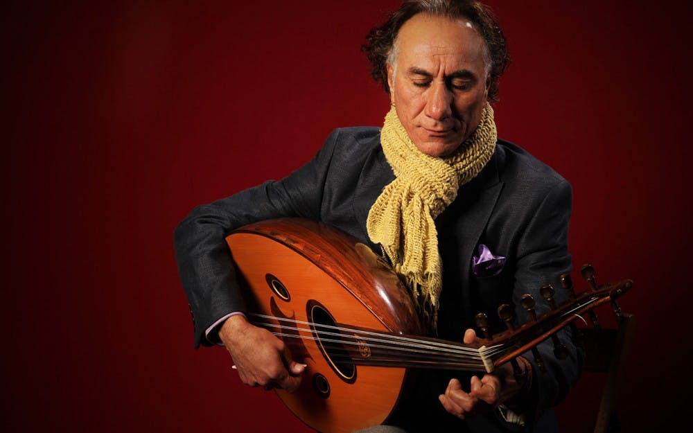 <p>Rahim AlHaj is a Grammy-nominated oud player and political refugee. The oud&nbsp;is an Iraqi instrument in the same family as the guitar. He is coming to Bloomington for the second time for Lotus Blossoms, a program which spans five weeks and takes different artists from cultures around the world and brings them to the public and school children of Monroe County.</p>