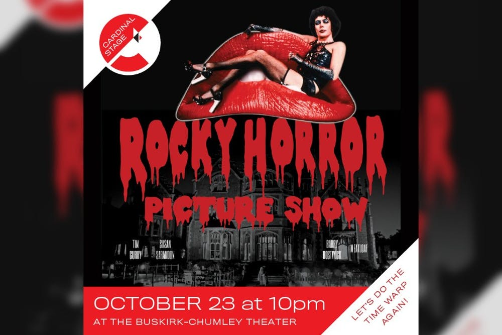<p>Cardinal Stage will host its 16th annual screening of &quot;Rocky Horror Picture Show&quot; at 10 p.m. on Oct. 23 in the Buskirk-Chumley Theater. Tickets will be sold for $15 in advance or $20 at the door. </p>