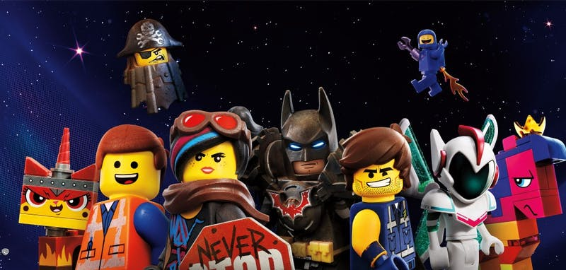 """The Lego Movie 2: The Second Part"" will be shown at 8 p.m. Friday and Saturday and 2 p.m. Sunday at the Whittenberger Auditorium in the Indiana Memorial Union."