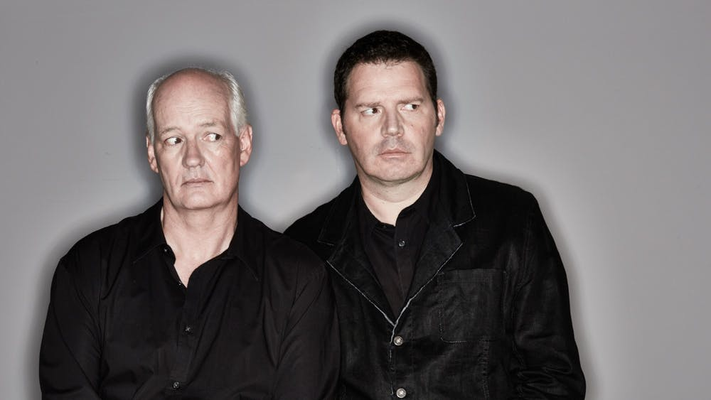 "Colin Mochrie and Brad Sherwood, stars of ""Whose Line is it Anyway?,"" pose for a headshot. ""Stream of Consciousness,"" a virtual live comedy sketch show starring Mochrie and Sherwood, will take place over Zoom on March 20 and 27 with improv sketches using audience suggestions."