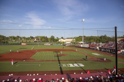 IU played Kentucky on May 8 at Bart Kaufman Field. IU signed nine recruits Wednesday.