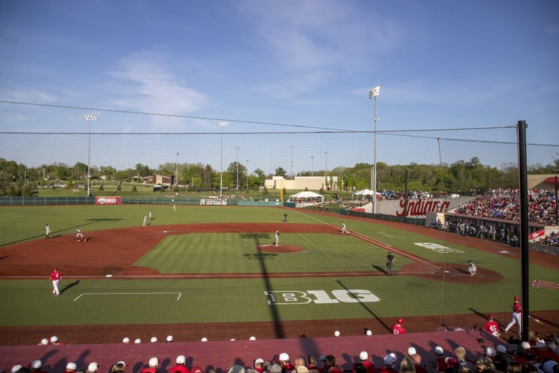IU played Kentucky on May 8 at Bart Kaufman Field. IU signed nine recruits Wednesday.