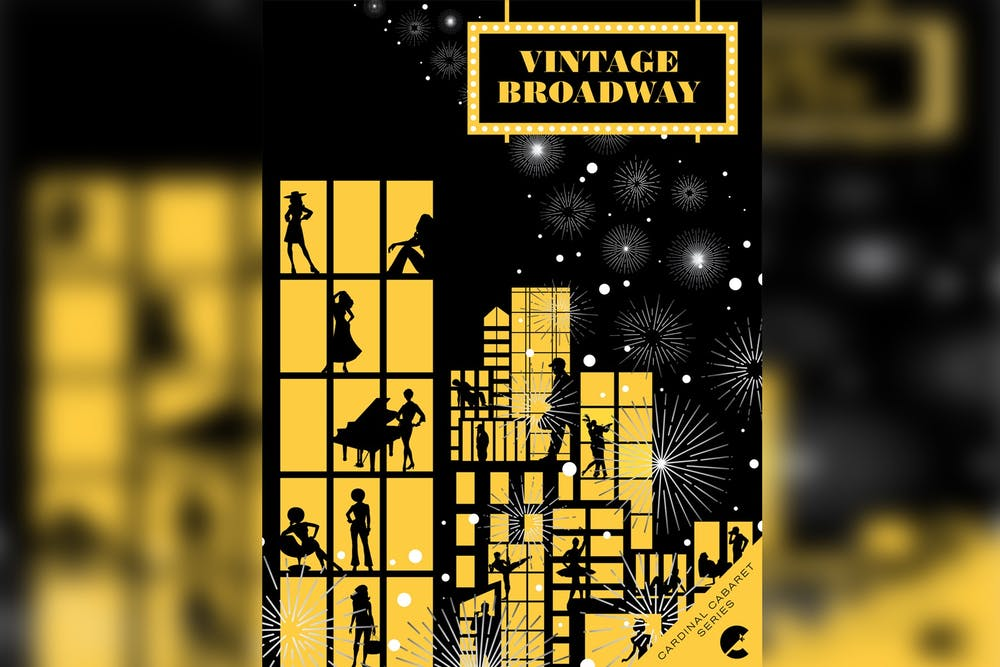 <p>The promotional poster for Cardinal Stage&#x27;s &quot;Vintage Broadway Cabaret&quot; appears. Performances of the show will be at 7:00 p.m. June 4-5 outdoors at the Hundredth Hill Artist Residence and Retreat in Bloomington.</p>