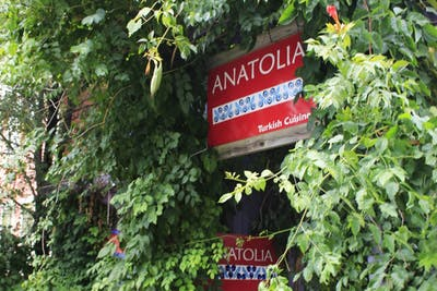 Anatolia Restaurant is a Turkish restaurant on Fourth Street. It's one of many international food options in Bloomington.