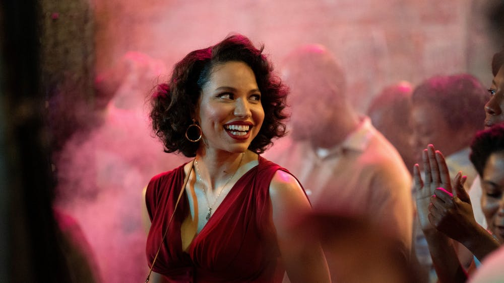 "Actress Jurnee Smollett plays Letitia in the show ""Lovecraft Country."""