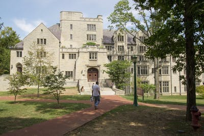 Morrison Hall is home to the Kinsey Institute for Sex Research which was founded in 1947 by Alfred Kinsey.