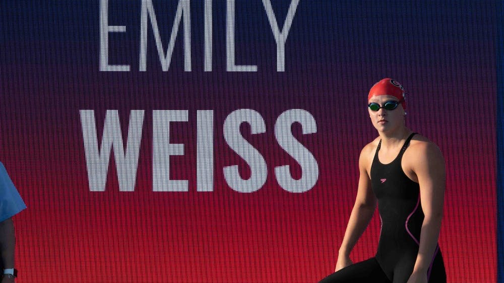 Emily Weiss is set to be a high school senior at Yorktown High School in Yorktown, Indiana. She swims the 50, 100 and 200 meter breaststroke, the same races as Lilly King, along with the 200 Individual Medley.