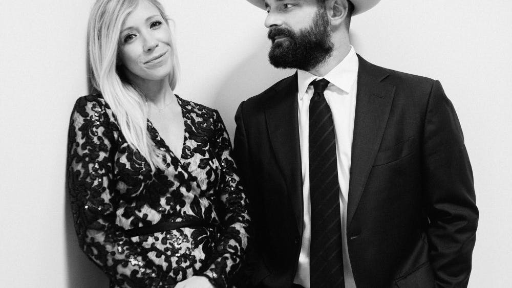 Singer-songwriter couple Drew and Ellie Holcomb will perform at 8 p.m. Feb. 10 at the Buskirk-Chumley Theater.
