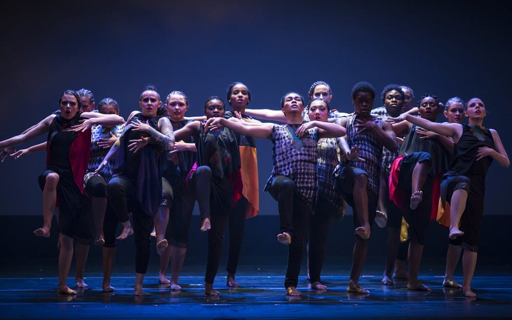 The African American Dance Company spent nearly a week in China over winter break. While there, AADC put on a performance and were paired with students from the China University of Mining and Technology, Beijing.