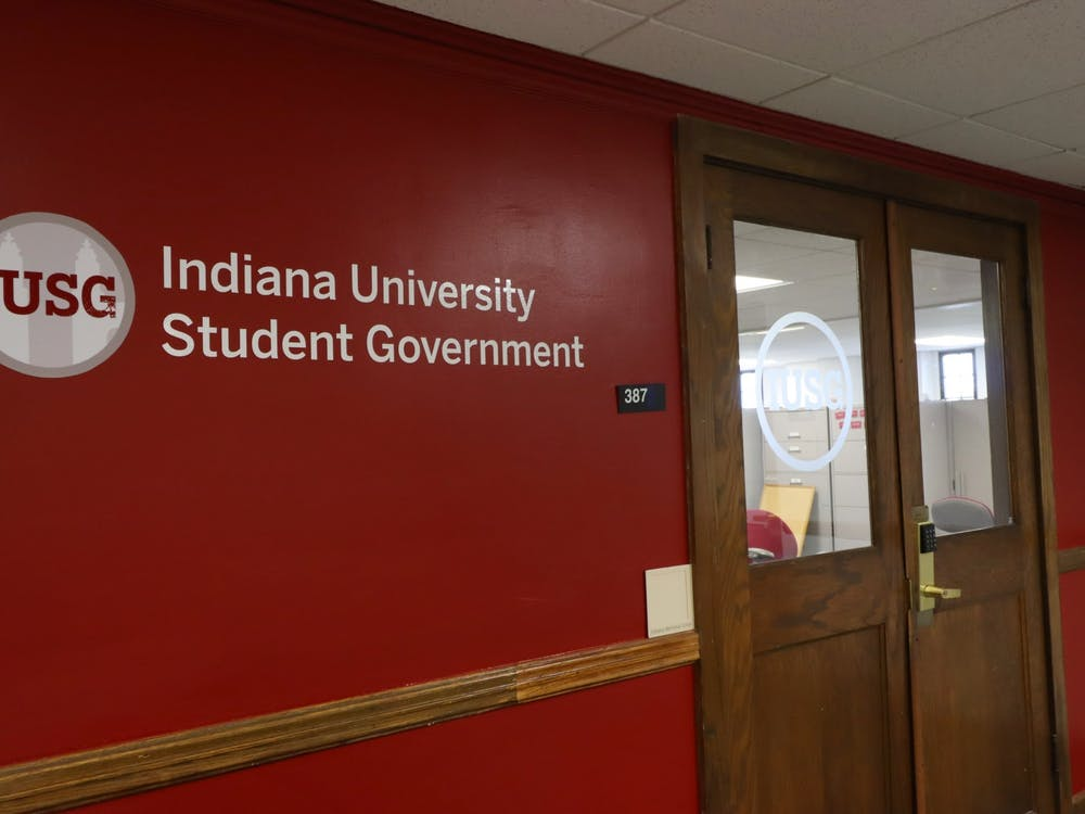 The IU Student Government office is seen in the Student Activities Tower of the Indiana Memorial Union. The IUSG Supreme Court certified the 2021-22 Congressional election results Thursday evening.