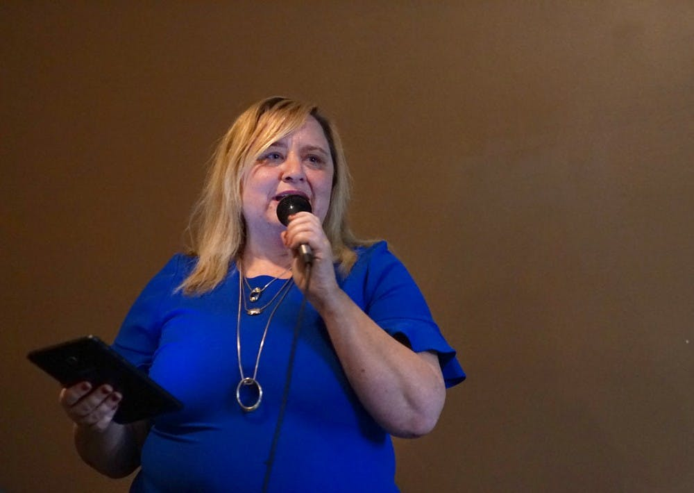 <p>Less than 24 hours after the Indiana Daily Student broke a story on sexual harassment accusations against county commissioner Amanda Barge, she suspended her campaign for mayor of Bloomington. Her name will still appear on ballots, and she can still win the mayoral primary. </p>