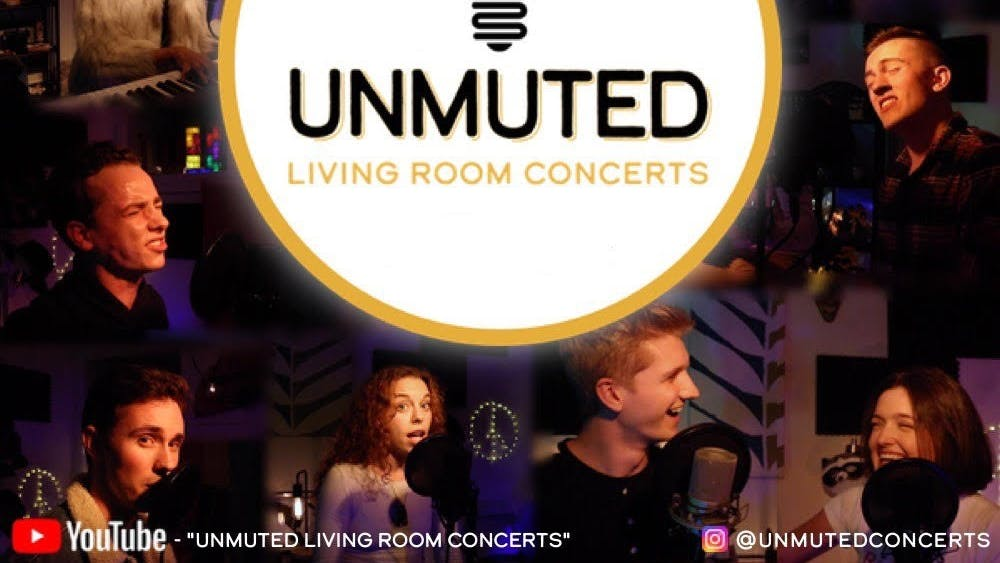"IU students perform in the ""Unmuted Living Room Concerts"" series. A group of 12 seniors in the IU Musical Theatre program created the ""Unmuted Living Room Concerts."""