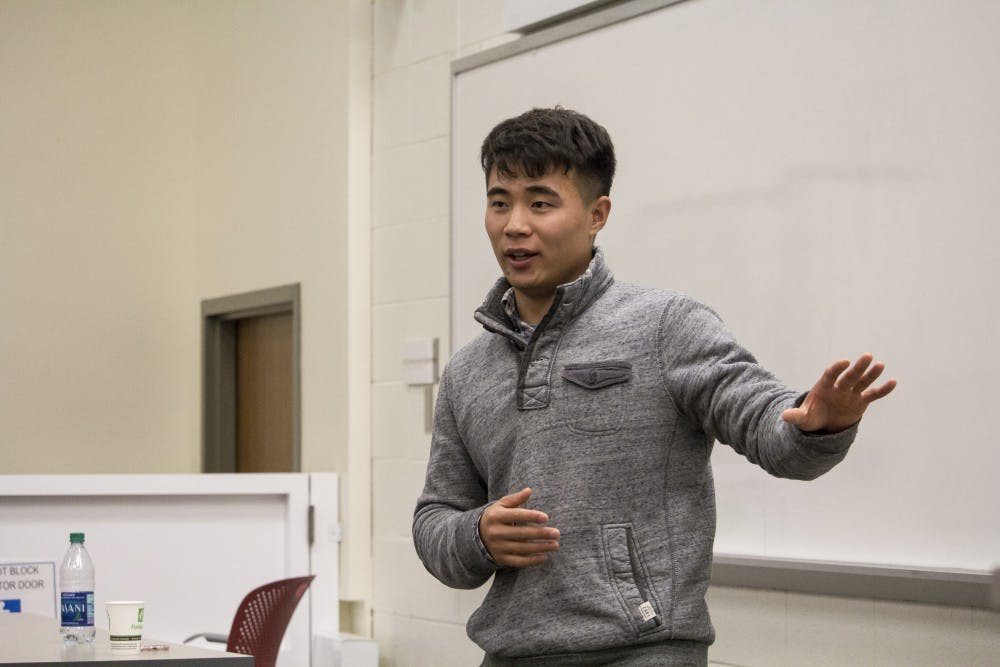 <p>North Korea defector Charles Ryu talks about his two escapes from North Korea and his eventual arrival in the United States. After living off only 150 kernels of corn a day, Ryu said escape was his only option.&nbsp;</p>