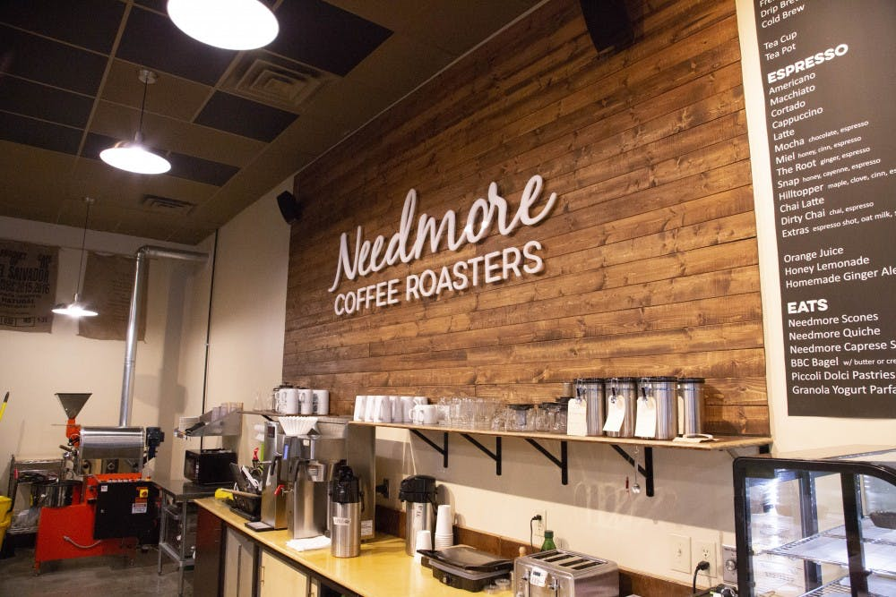 <p>Needmore Coffee Roasters is located at 104 N. Pete Ellis Drive.</p>