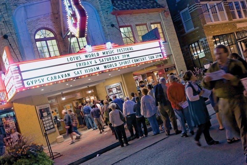 The REEL ROCK Film Tour takes place at the Buskirk-Chumley Theater. Ninety-six years ago on Dec. 11, 1922, the Buskirk-Chumley Theater, then the Indiana Theater, opened its doors to the public.