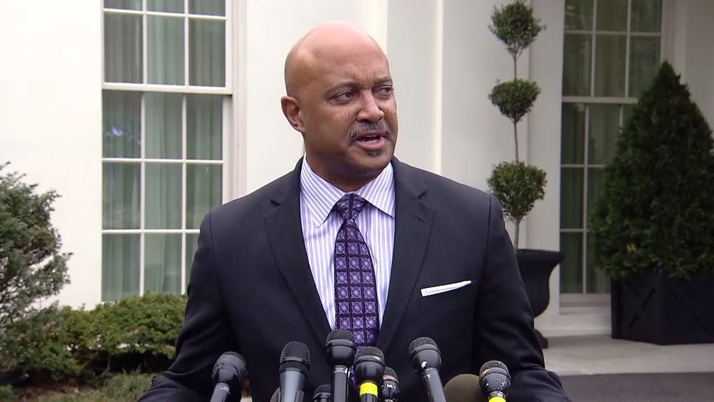 Attorney General Curtis Hill allegedly groped a state representative and three legislative staffers at a party.