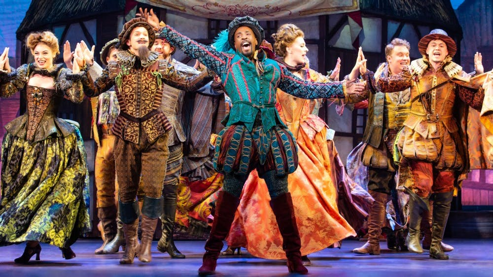 """Something Rotten!"" will show at 8 p.m. Feb. 27 and 28 at the IU Auditorium. The Tony Award-winning musical is set during the Renaissance at the end of the 16th century and focuses on two brothers: Nick and Nigel Bottom, during a time when William Shakespeare is the most famous person in England."