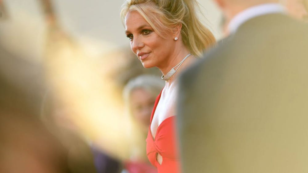"""Britney Spears arrives for the premiere of Sony Pictures' """"Once Upon a Time ... in Hollywood"""" July 22, 2019, at the TCL Chinese Theatre in Hollywood."""