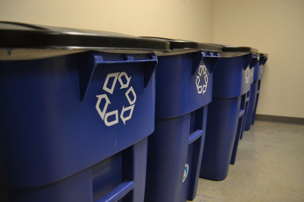 <p>The City of Bloomington's Sanitation Division paused recycling pickup this week due to COVID-19 infections among employees.</p><p><br/><br/></p>