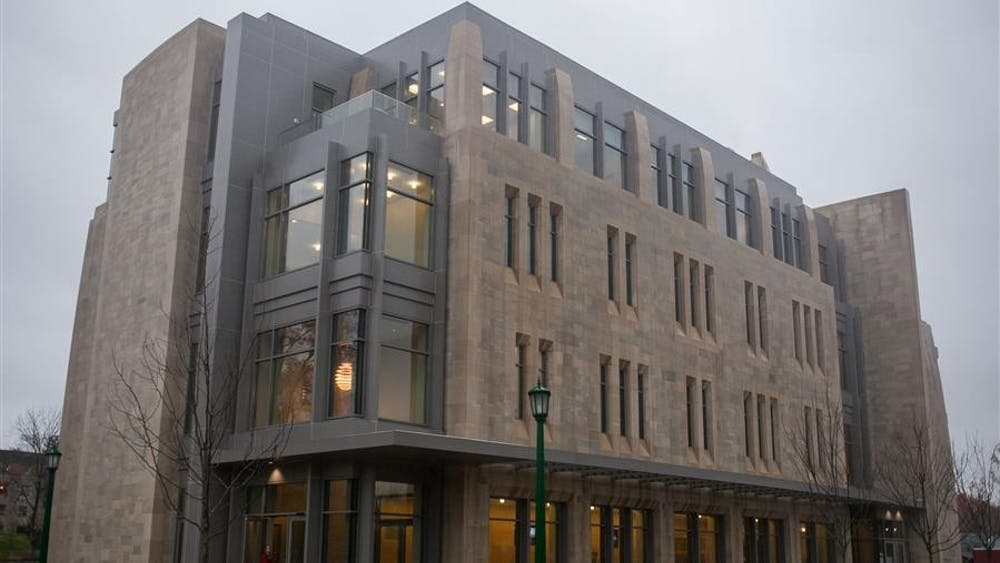 The Jacobs School of Music held a dedication ceremony Thursday for the new East Studio Building, located on the corner of Third Street and Jordan Avenue.