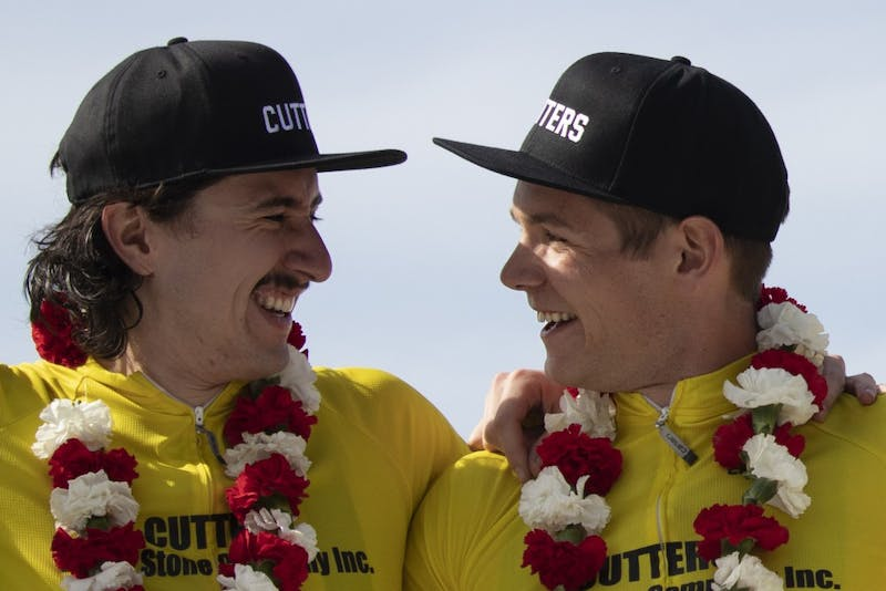 The Cutters won the 69th running of the men's Little 500. It was the team's second title in a row and its 14th overall, the most in Little 500 history.   Editors note: Noble Guyon, Victor Grössling and Emily Abshire have worked for the Indiana Daily Student.