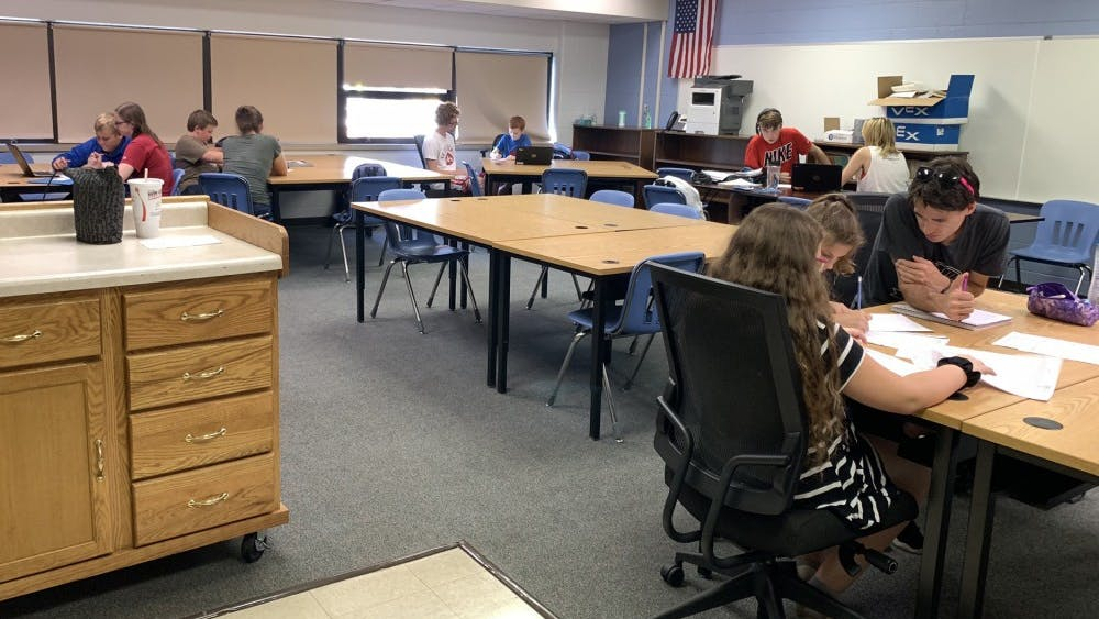 IU students are tutors and role models for children in Brown County schools. The students have the opportunity to understand the connection between college students and third through sixth graders through service and research.