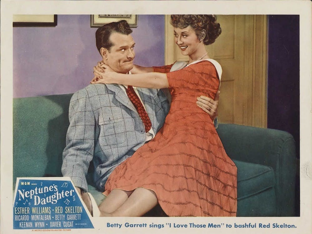 """""""Neptune's Daughter"""" was released in 1949. The movie features the song, """"Baby, It's Cold Outside."""""""