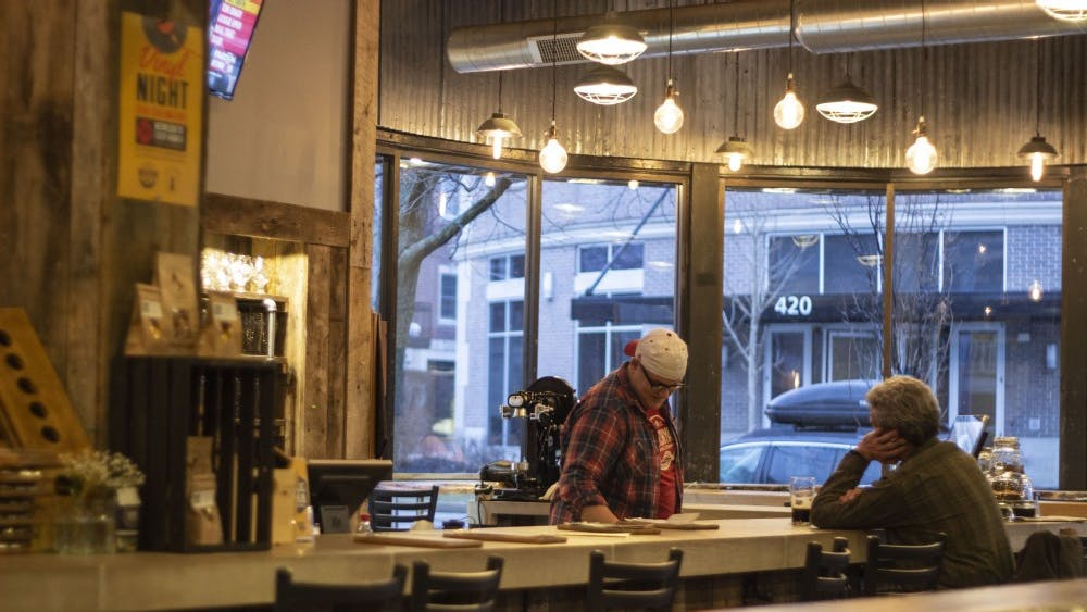 Switchyard Brewing Company, located on North Walnut Street, has been in Bloomington since 2014. The brewery is open to people of all ages, but the bar is only for adults over 21.