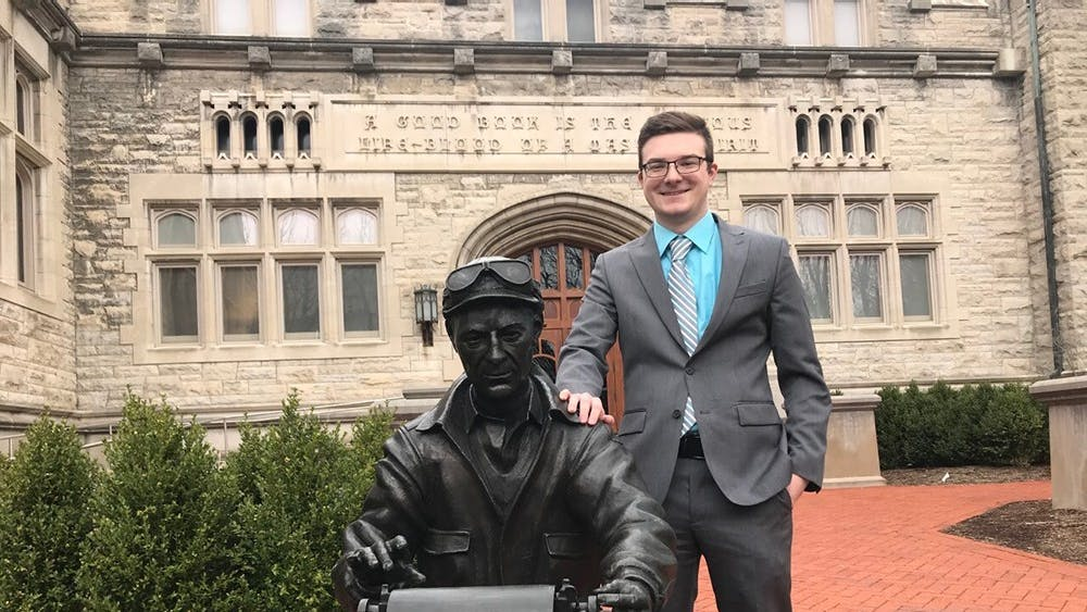 Junior Colin Kulpa will serve as the editor-in-chief at the IDS this fall.