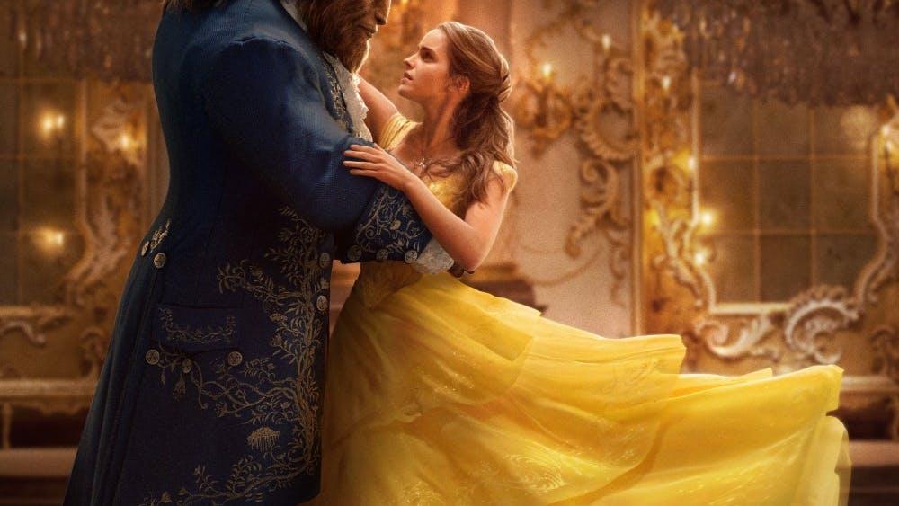 "Dan Stevens and Emma Watson star in Disney's ""Beauty and the Beast."""