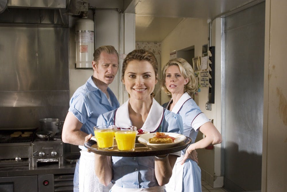 """<p>""""Waitress"""" was released in 2007. The movie stars Keri Russell as a waitress in a diner in a small Southern town.&nbsp;</p>"""