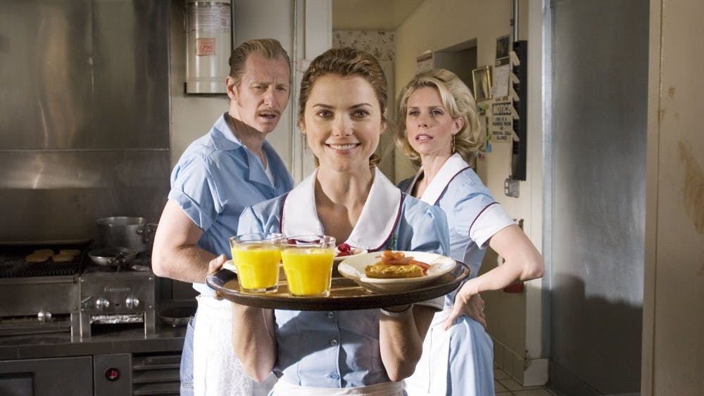 """""""Waitress"""" was released in 2007. The movie stars Keri Russell as a waitress in a diner in a small Southern town."""
