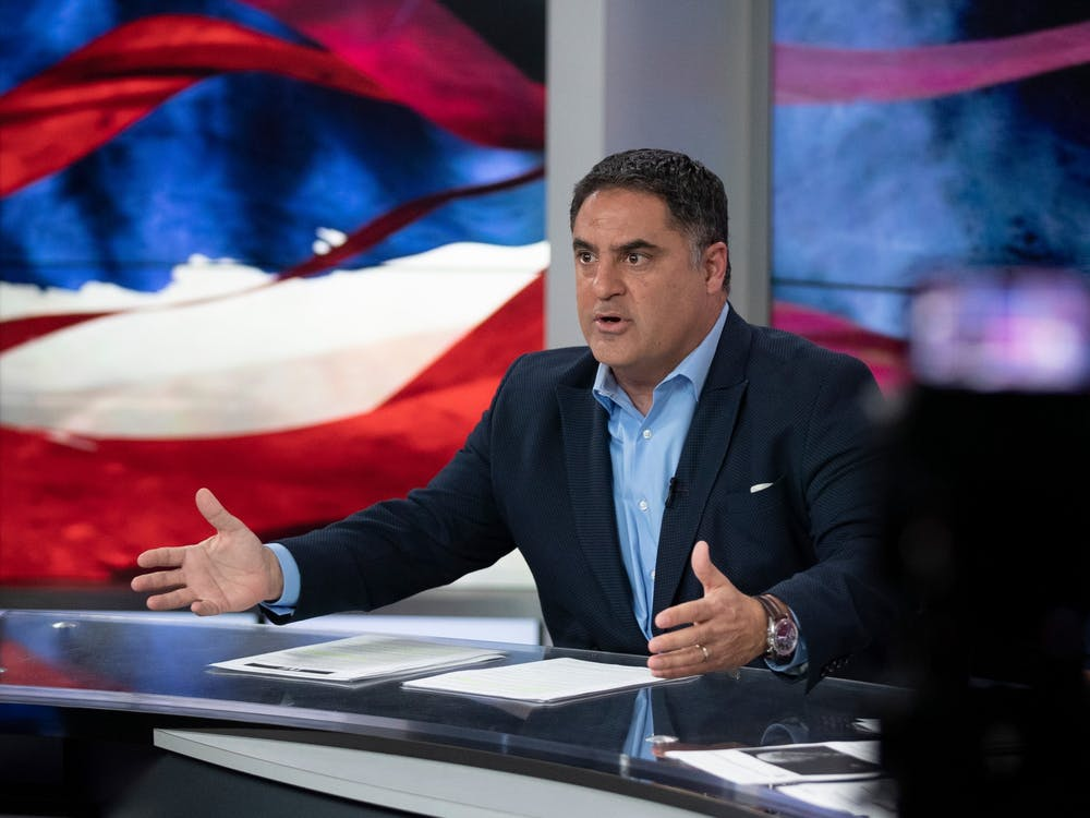 """Cenk Uygur is the host and co-founder of """"The Young Turks"""" online talk show."""