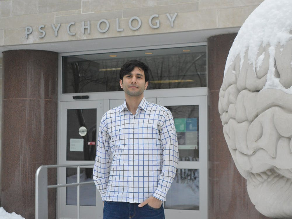 Abolfazl Alipour, 29, is a neuroscience and psychology Ph.D student at IU. Alipour is a supporter of the Indiana Graduate Workers Coalition who also joined the 2021 Committee for Fee Review.
