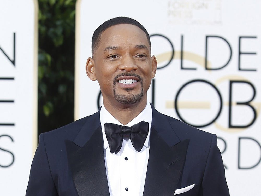 Will Smith arrives at the 73rd Annual Golden Globe Awards show at the Beverly Hilton Hotel in Beverly Hills, Calif., on Sunday, Jan. 10, 2016. (Wally Skalij/Los Angeles Times/TNS)
