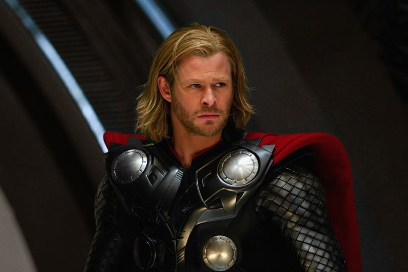 """""""Thor"""" was released in 2011 and stars Chris Hemsworth. The film is apart of the the Marvel movie franchise."""