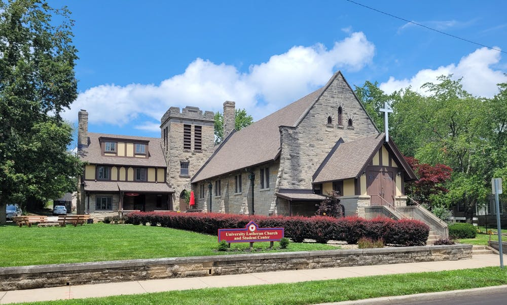 <p>The University Lutheran Church is located at 607 East 7th Street. The church will receive a $2,500 grant through a partnership between the Independent Colleges of Indiana, Inc. and the Lilly Scholars Network.</p>
