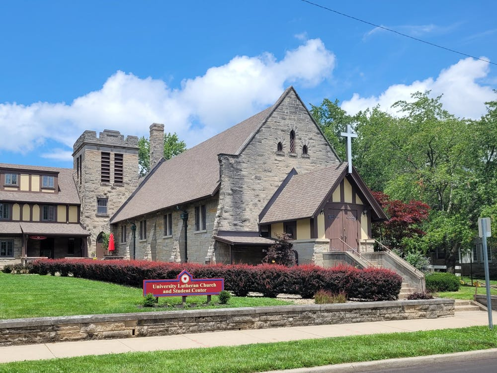 The University Lutheran Church is located at 607 East 7th Street. The church will receive a $2,500 grant through a partnership between the Independent Colleges of Indiana, Inc. and the Lilly Scholars Network.