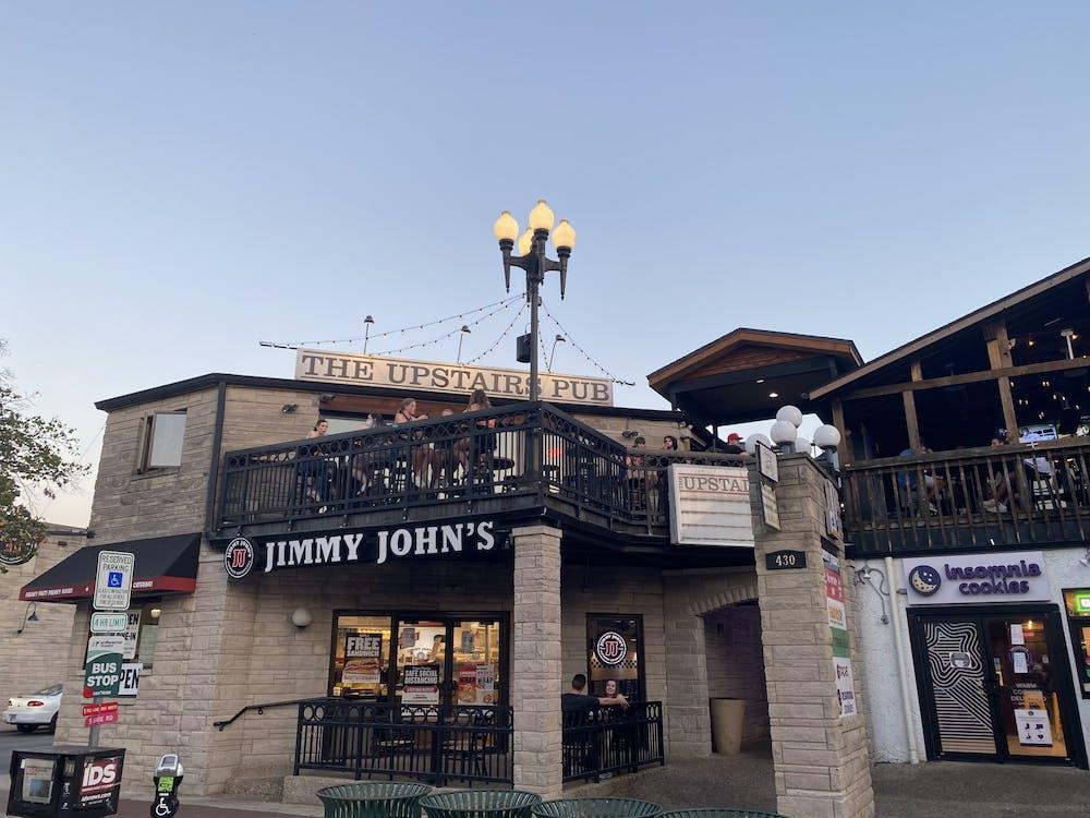 The Upstairs Pub is seen on Aug. 24, 2021, on Kirkwood Avenue in Bloomington.