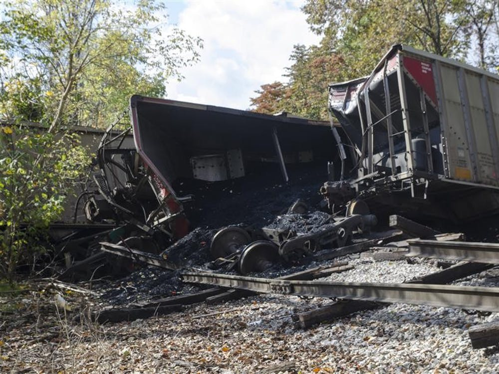 14 traincars derailed on Wednesday in Unionville, 10 miles from IU.