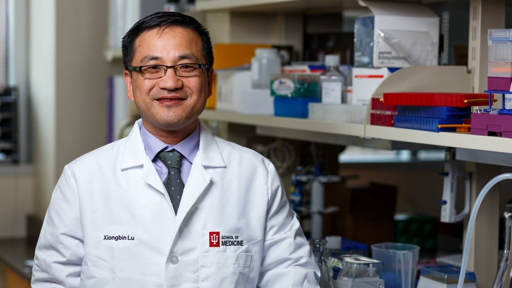 Dr. Xiongbin Lu is a cancer biologist and professor of medical and molecular genetics at IU. Researchers at IU School of Medicine recently discovered a new form of treatment for triple negative breast cancer, a form of breast cancer that is not as responsive to chemotherapy due to a lack of receptors found in cancerous cells.